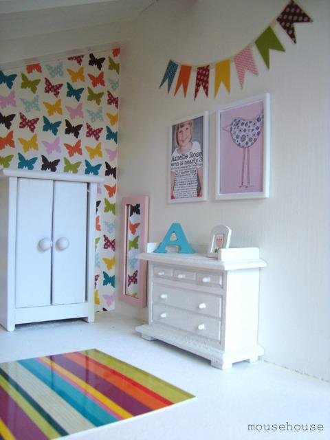 Maison de poupée chambre 2