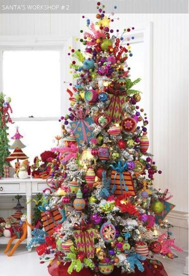 Sapin de Noël Kitsch 3